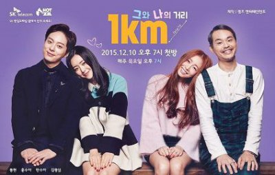 �������� ����� ��� � ���� [2015] / The 1km Distance Between Us